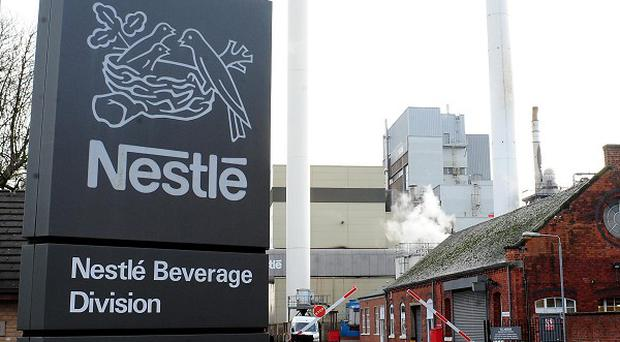 Swiss food and drink giant Nestle has reported sweet first quarter figures