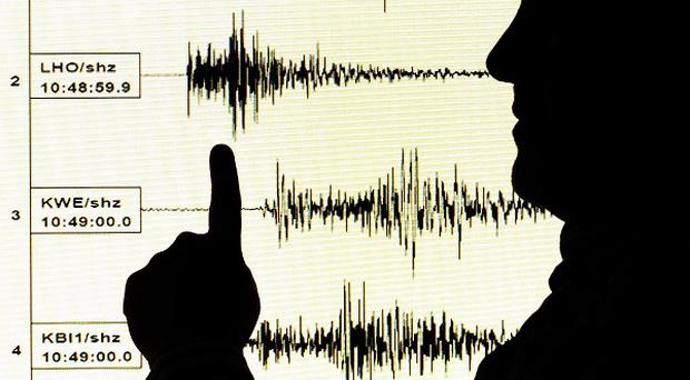 Waters off eastern Indonesia have been rocked by a powerful earthquake
