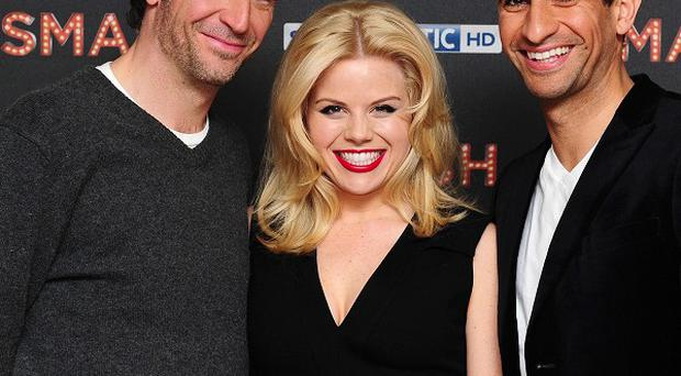 Jack Davenport, Megan Hilty and Raza Jaffrey star in new musical TV show Smash