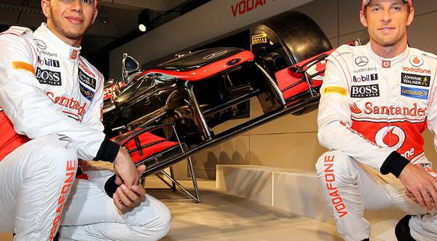 Jenson Button and Lewis Hamilton are among the drivers competing in the Bahrain Grand Prix