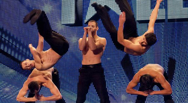 Cascade impressed with their performance on Britain's Got Talent