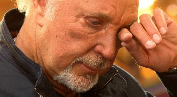 Sir Tom Jones welled up on The Voice