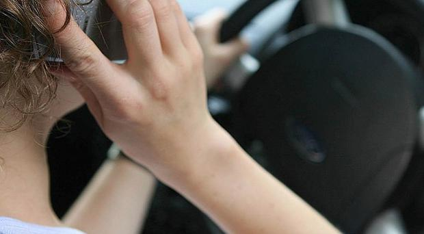 More than four in 10 younger drivers admits to using a mobile while behind the wheel