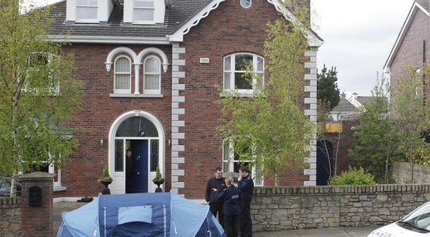Brendan and Asta Kelly have been evicted from their mansion in Killiney, Dublin