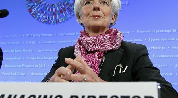International Monetary Fund managing director Christine Lagarde welcomed additional funding for the body (AP)
