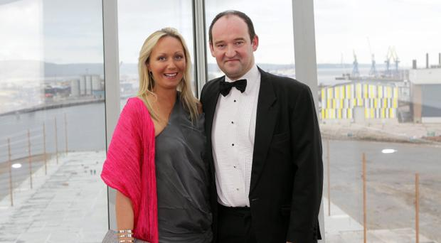 Job boost: MCL managing director Gary McClarty with Kerry McClarty