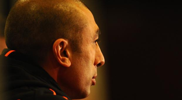 Roberto Di Matteo will attempt to take Chelsea to the Champions League final by avoiding defeat against Barcelona tomorrow night