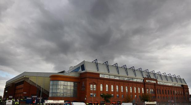 Gloomy outlook at Ibrox: Rangers have been hit with a £160,000 fine and 12-month embargo on signing players aged over 17 after being found guilty of five charges in relation to their finances and the appointment of Craig Whyte as chairman