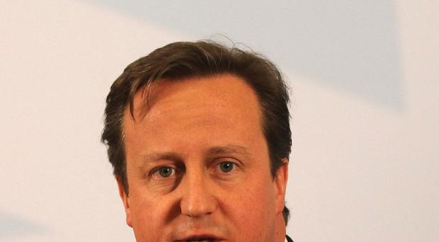 Support for David Cameron's Conservatives slumped dramatically in the past month, polls suggests