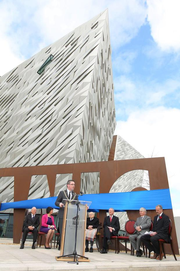Difficult journey: Titanic Belfast on its own won't attract tourists; we need world-class hospitality too.