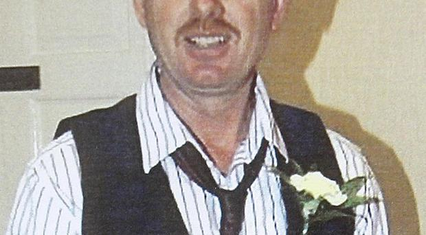 Karl Donohoe was sentenced to 12 years for the manslaughter of Raymond Bates, pictured,