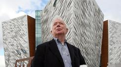 Award-winning Belfast designer Alan Grimason, who designed the cladding for Belfast Titanic