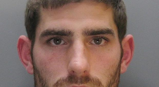 Sheffield United footballer Ched Evans, who was given a five-year sentence for rape