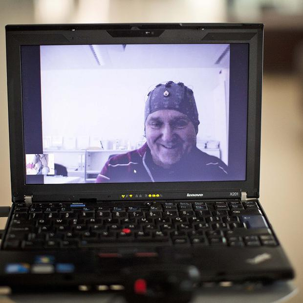 Partially paralysed patient Mark-Andre Duc has controlled a robot using only thoughts (AP)