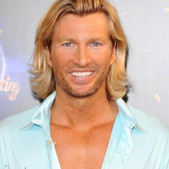 Robbie Savage performed a Michael Jackson-inspired routine on Strictly