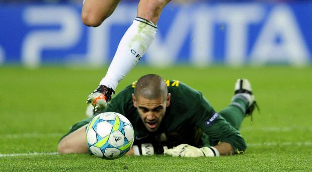 <b>BARCELONA</b><br /> VICTOR VALDES: Took out his own team-mate Gerard Pique and caught off his line by Ramires. 4