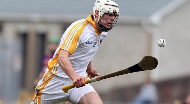 Antrim's Johnny Campbell will not be playing in this year's Championship