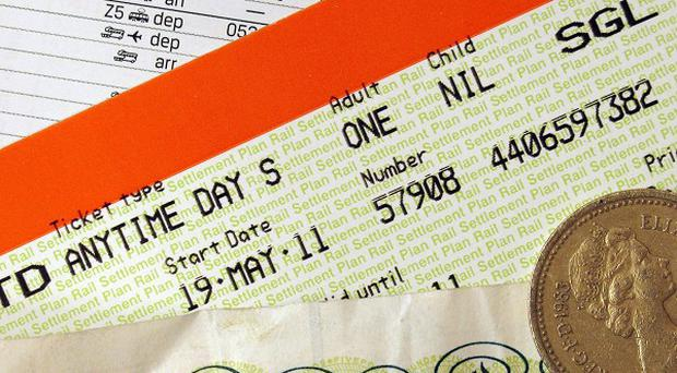 Transport Secretary Justine Greening said reducing the annual train ticket price rise in January 2013 may be hard