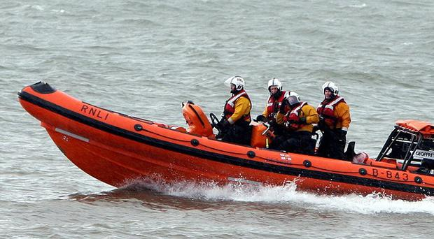 RNLI and Coast Guard crews had searched for a missing fisherman last seen rowing near the Mace Head area of Co Galway
