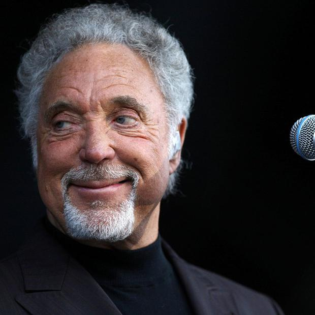 Tom Jones is finally happy to go grey gracefully