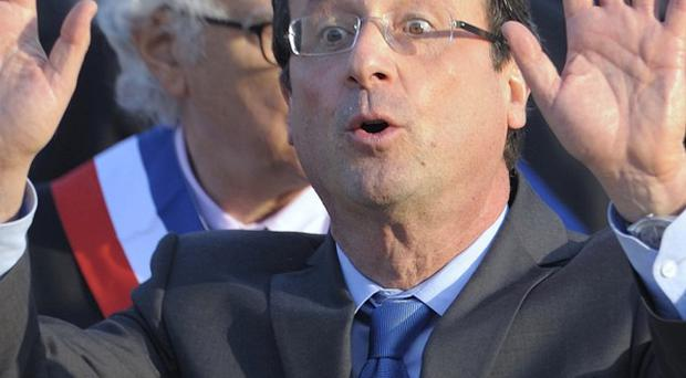 Francois Hollande is favourite to win the French presidential election (AP)