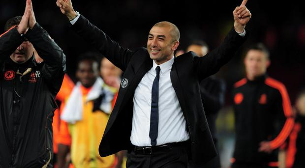 Roberto Di Matteo is favourite with the bookies to start next season as Chelsea manager