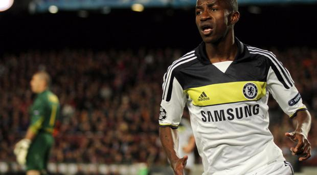 Chelsea's Ramires, who scored against Barcelona on Tuesday night, will miss the Champions League final through suspension