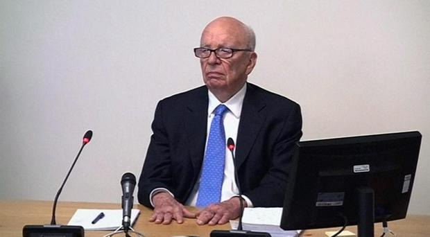 In this video image, News Corp. executive chairman Rupert Murdoch resumes his testimony before Britain's media ethics committee in London, Thursday April 26, 2012