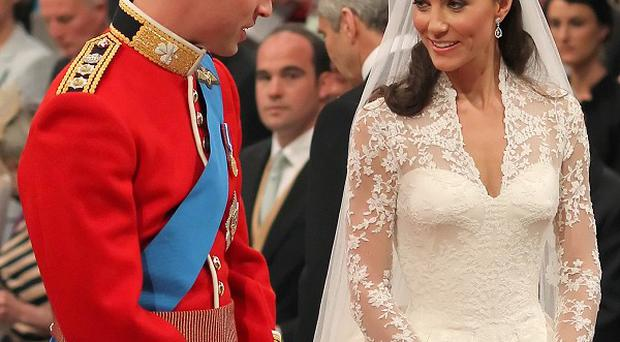 William and Kate will join friends for a celebration on the weekend of their wedding anniversary