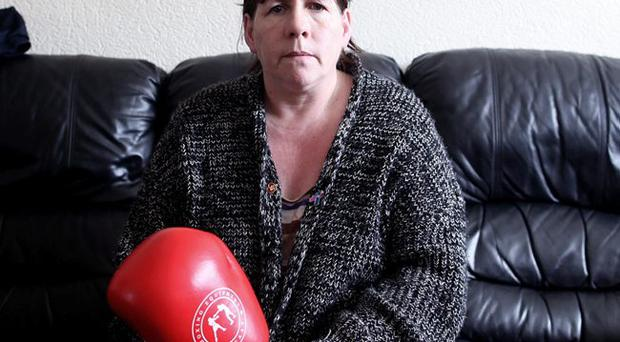 """Remembering Gavin: Mary McComb hopes to attend the boxing tribute night for her son in Whiterock Leisure Centre next month but admits: """"It will be a very difficult night for me"""""""