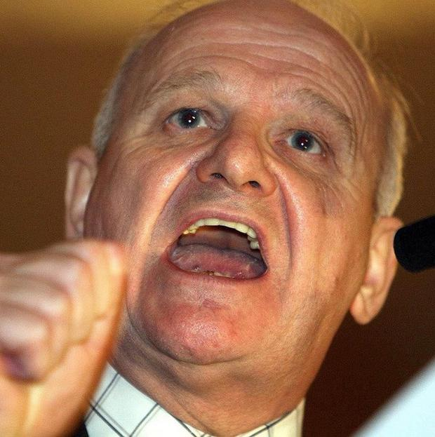 DUP MP for South Antrim William McCrea said the atheist meeting was 'highly inappropriate'