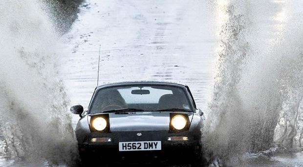 The Environment Agency said five flood warnings remain in place in south-west England