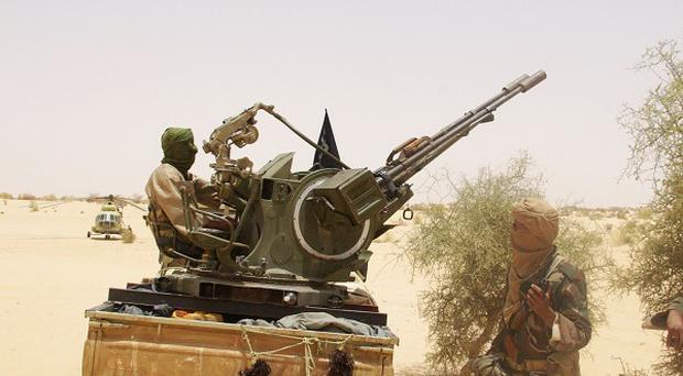 Mutinous soldiers overthrew Mali's democratically elected president last month (AP)