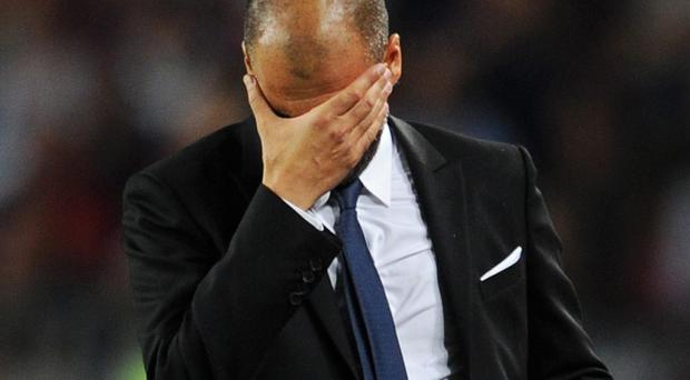 Pep Guardiola's Barcelona team were knocked out of the Champions League by Chelsea this week and the team are trailing Jose Mourinho's Real Madrid in the league