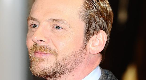 Simon Pegg starred in Mission: Impossible - Ghost Protocol