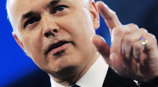 Iain Duncan Smith warned welfare was not 'an easy target' for cuts