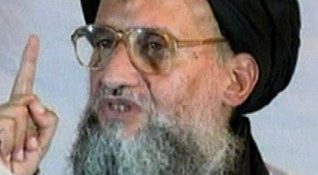 Al Qaida's new leader, Ayman al-Zawahri, still aspires to attack the US (AP/AP Television News)
