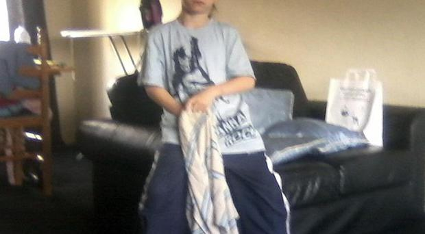 Ian Thomas Bell, eight, is thought to have fallen into the River Wear near Willington, County Durham (Durham Police/PA)