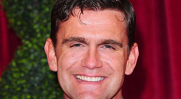 EastEnders' Scott Maslen took the sexiest male gong at the British Soap Awards