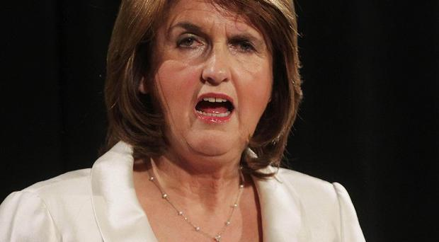 Labour's Joan Burton said the Stability Treaty would give the country 'an insurance policy'
