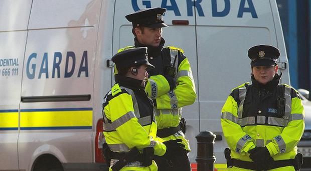A bomb disposal team made safe the improvised explosive device in Roscrea early on Saturday