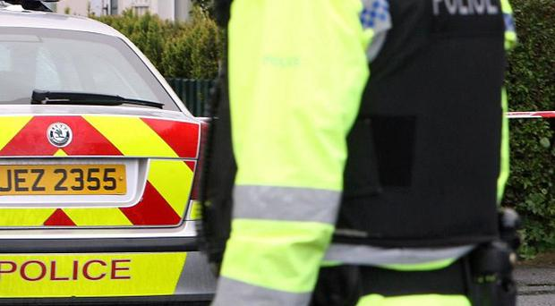 A van bomb found near the Irish border contained 600lbs of homemade explosive