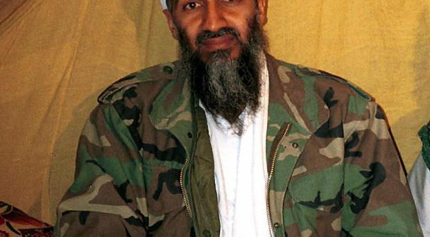 A diary written in Osama bin Laden's own hand will go on display in the US (AP)
