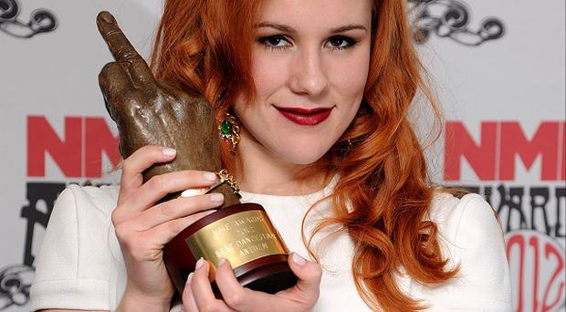 Katy B says she'd probably faint if she got to work with Alicia Keys
