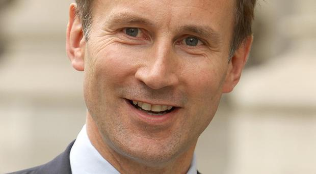 Just 16 per cent of voters think Culture Secretary Jeremy Hunt should remain in post, according to a survey