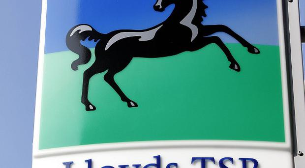 Lloyds Banking Group has revealed pre-tax profits of 288 million pounds for the three months to March 31