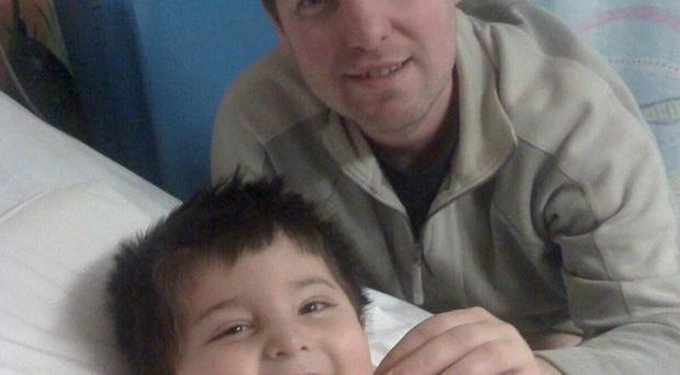 Kian Barton benefited from a liver and kidney transplant (NHS Blood and Transplant/PA)