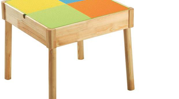 <b>1. StartRight</b> £89.99, lfccatalogue.co.uk The top of this table has a whiteboard on one side and a blackboard on the other, plus a building-block area to lay over that.