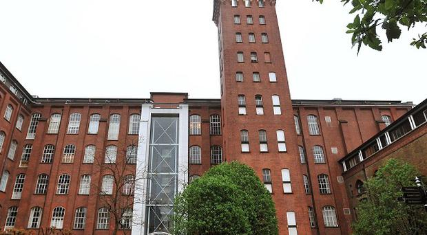 Private gated flats in Bow, where the Army may position a surface to air missile system during the Olympics