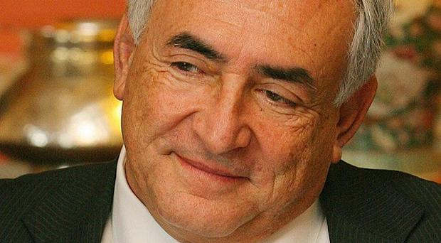 Dominique Strauss-Kahn has denied doing anything violent during an encounter with a hotel maid in New York